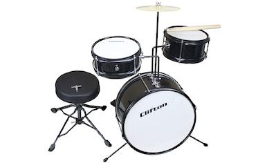 Clifton Kinderschlagzeug »Junior Drum, schwarz« kaufen