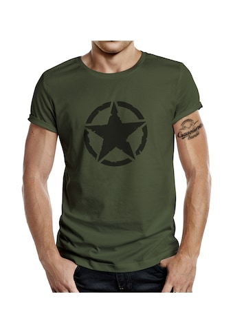 GASOLINE BANDIT® T - Shirt mit kultigem Print »US Army Vintage Star« kaufen