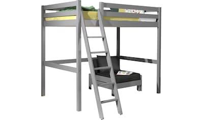 Vipack Hochbett »Pino«, mit Sessel kaufen