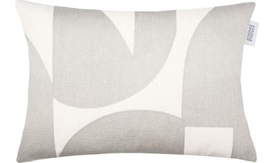SCHÖNER WOHNEN-Kollektion Kissenbezug »Ole«, (1 St.), bestickt in angesagter Strickoptik kaufen