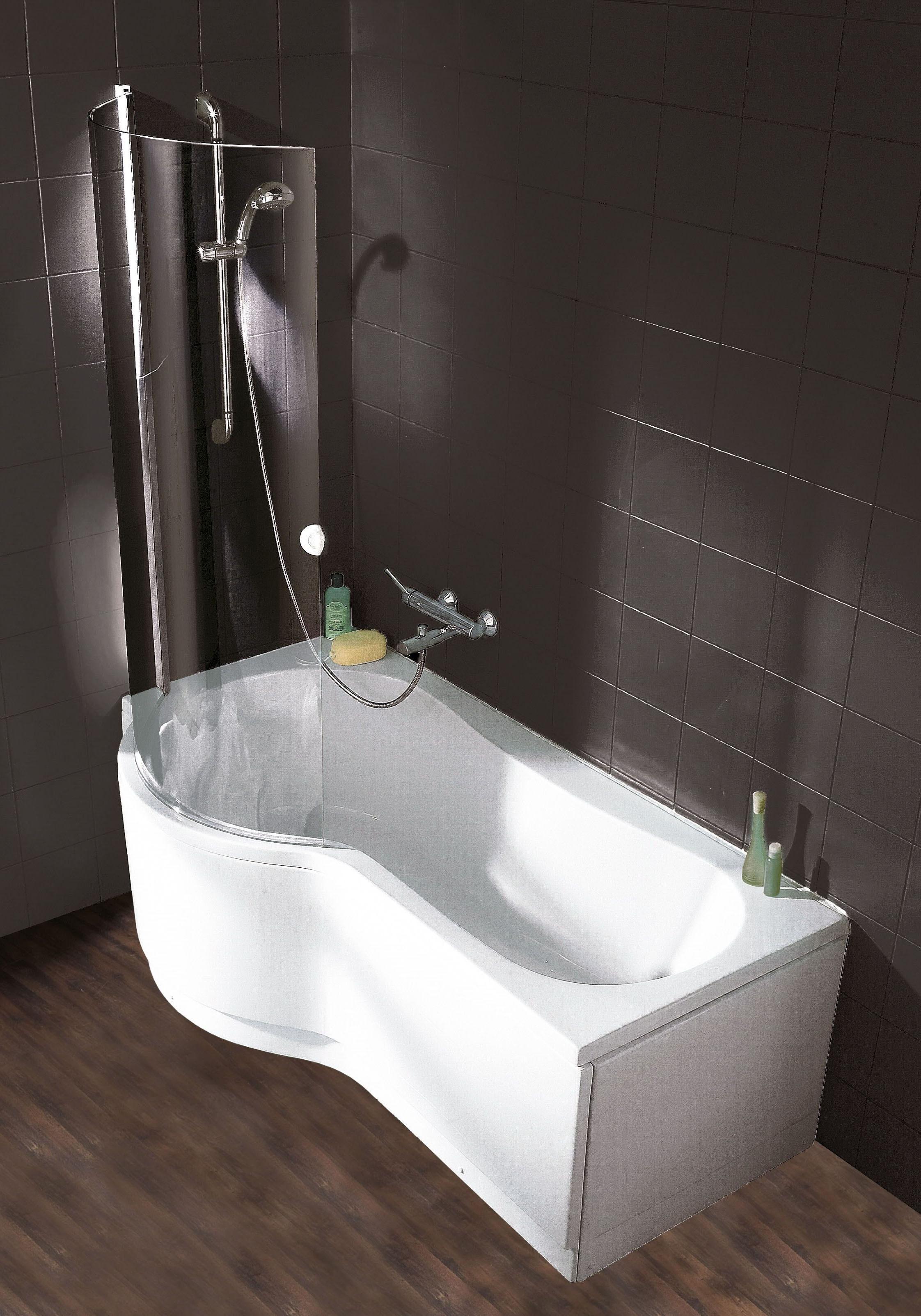 Schulte Wannen-Dusch-Kombination, B/T/H in cm: 170/70/197, Sicherheitsglas  bestellen | BAUR