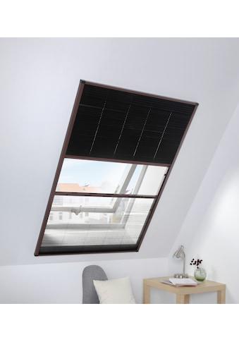 hecht international Insektenschutz-Dachfenster-Rollo, mit Plissee, BxH: 110x160 cm kaufen