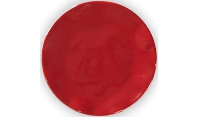 Q Squared NYC Kuchenteller »Ruffle Hues Collection«, (Set, 4 St.), Ø 14 cm, Melamin kaufen