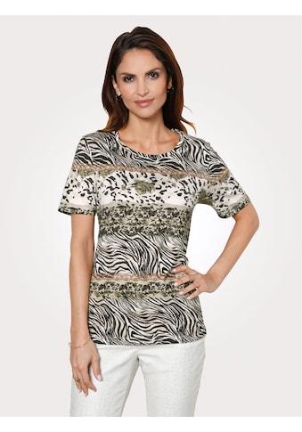 Mona Shirt mit Tierfelldessin kaufen