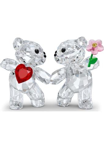 Swarovski Dekofigur »Kris Bär Zusammen glücklich, 5558892«, Swarovski® Kristall mit... kaufen
