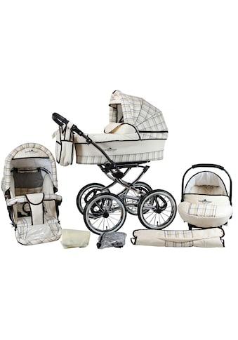bergsteiger Kombi-Kinderwagen »Venedig, classic beige, 3in1«, 15 kg, Made in Europe kaufen