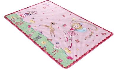 Kinderteppich, »LI - 101«, Prinzessin Lillifee, rechteckig, Höhe 2 mm kaufen