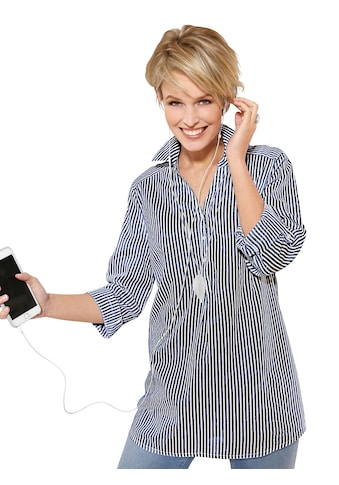 Classic Basics Bluse mit Hemdkragen kaufen