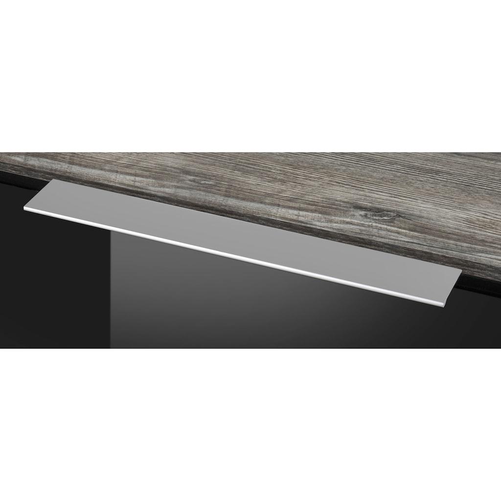 HELD MÖBEL Backofen/Kühlumbauschrank »Brindisi«, 60 cm breit, 200 cm hoch
