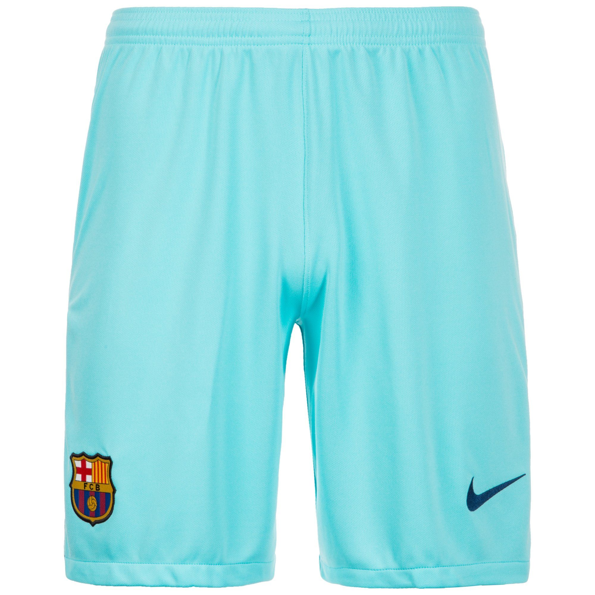 Nike Funktionsshorts »Fc Barcelona 17/18 Auswärts« | Bekleidung > Shorts & Bermudas > Shorts | Blau | Ab | NIKE