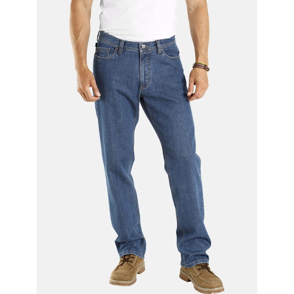 Jan Vanderstorm 5-Pocket-Jeans »BARLIN«, bequemer Unterbauchschnitt