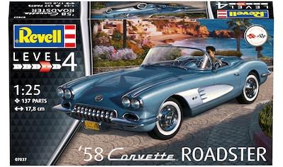 Revell® Modellbausatz »Model Set '58 Corvette Roadster«, (Set), 1:25 kaufen