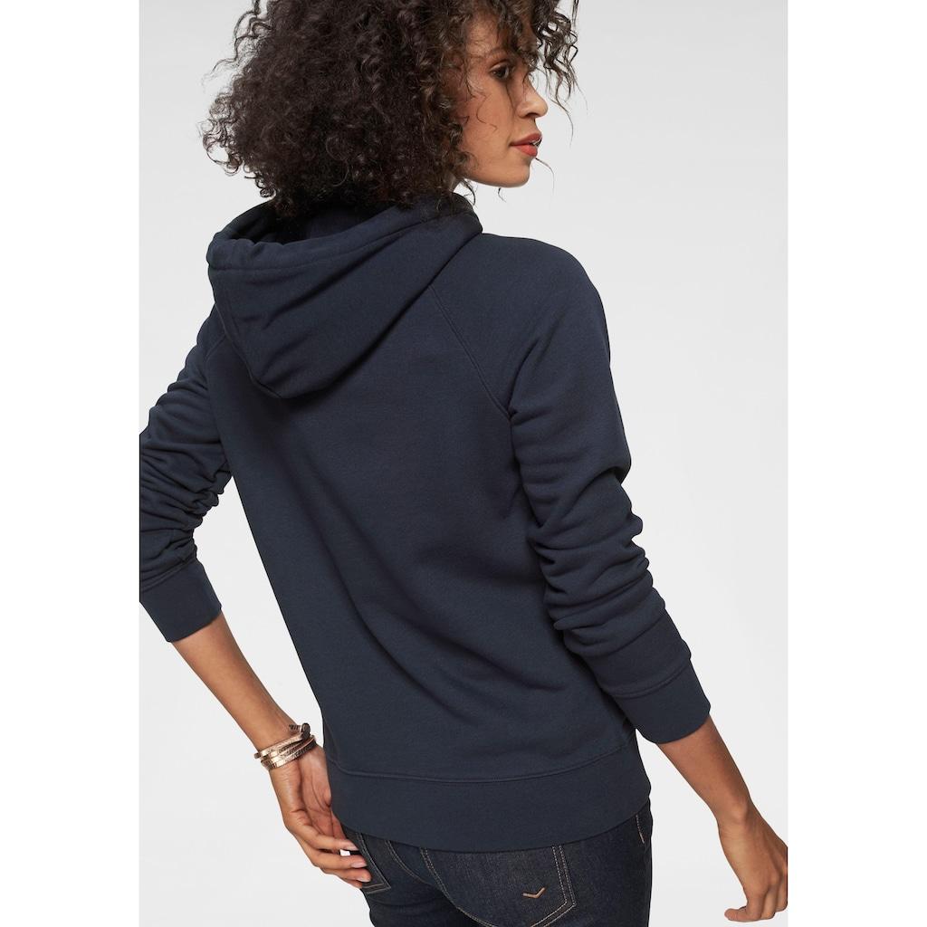 Gant Sweatshirt, mit großer Label-Applikation vorne