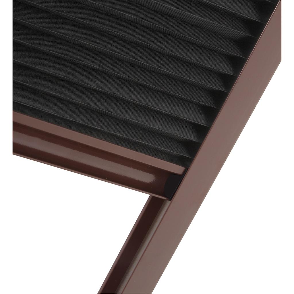 hecht international Insektenschutz-Dachfenster-Rollo, mit Plissee, BxH: 110x160 cm