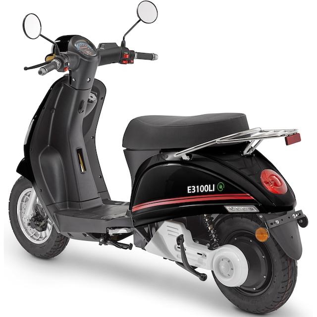 Luxxon E-Motorroller »E3100Li«, 45 km/h