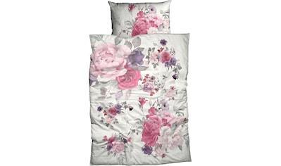 CASATEX Bettwäsche »Abena«, mit aufwendigen Blumendruck kaufen