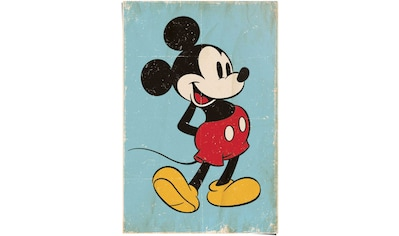 Reinders! Poster »Mickey Mouse retro«, (1 St.) kaufen