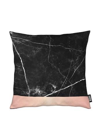 Dekokissen, »Black Marble Pink Edition«, Juniqe kaufen