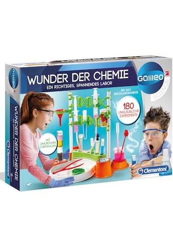 """Clementoni® Experimentierkasten """"Galileo  -  Wunder der Chemie"""" kaufen"""