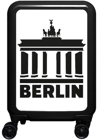 meinTrolley Hartschalen-Trolley »Berlin, 77 cm«, 4 Rollen, Made in Germany kaufen