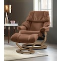 Stressless® Relaxsessel »Reno«, mit Classic Base, Größe S, M & L, Gestell Eiche