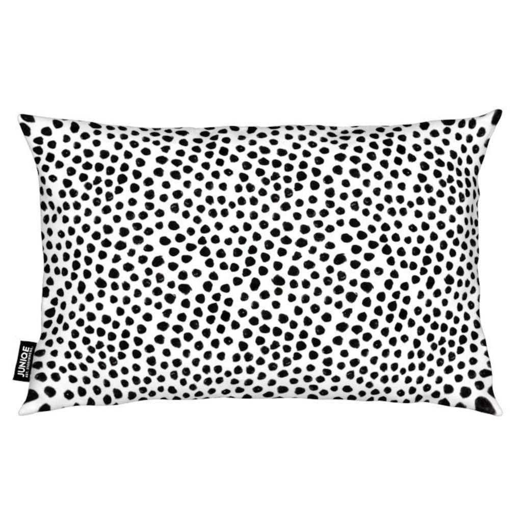 Juniqe Dekokissen »Small Dots«, Weiches, allergikerfreundliches Material