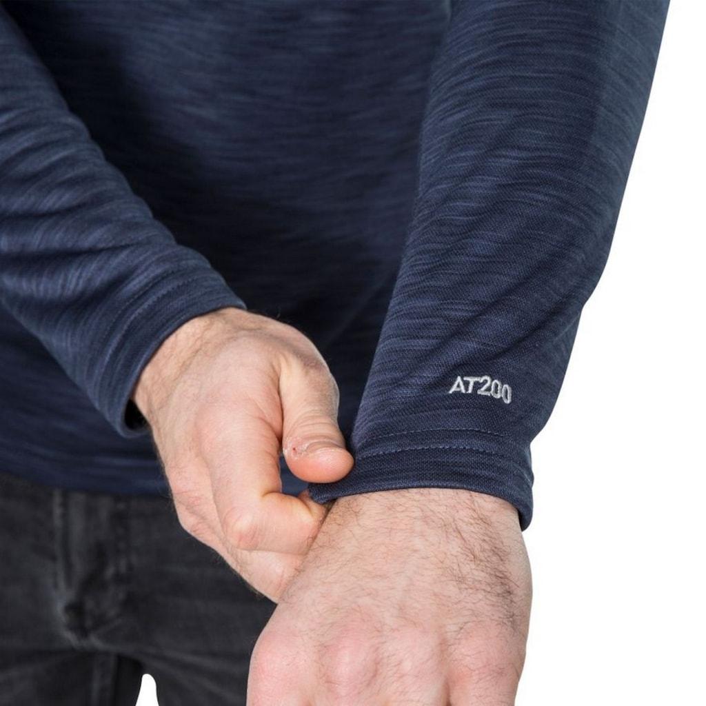 Trespass Fleecejacke »Herren Collins Fleecepullover mit Reißverschluss bis zur Brust«