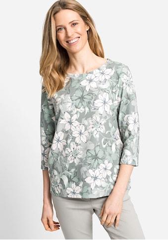 Olsen Sweatshirt, mit Blumenmuster kaufen