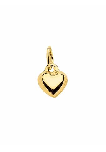 Adelia´s Kettenanhänger »333 Gold Anhänger Herz«, Goldschmuck für Damen kaufen