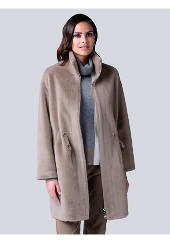 Alba Moda Fellimitatjacke, in Fell-Optik kaufen