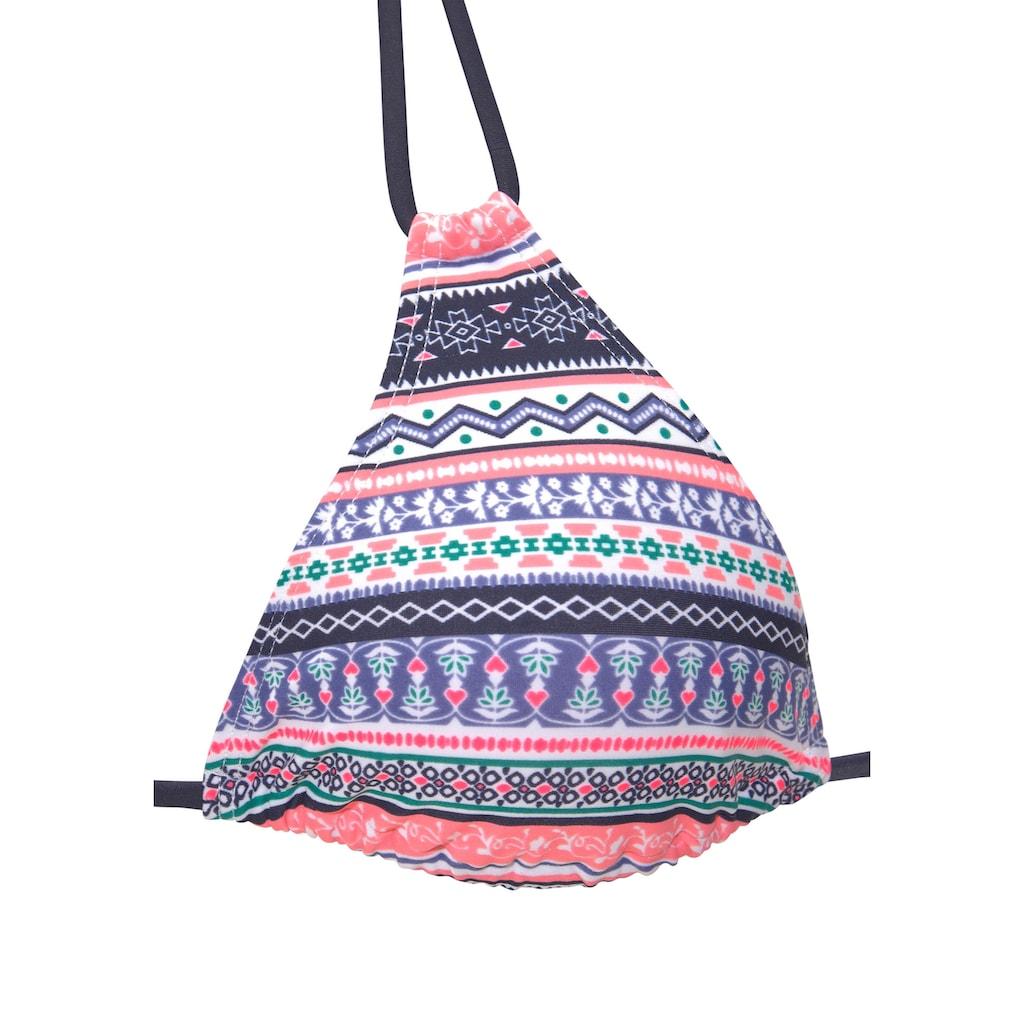 s.Oliver Beachwear Triangel-Bikini-Top »Barcelona«, im Ethno-Design