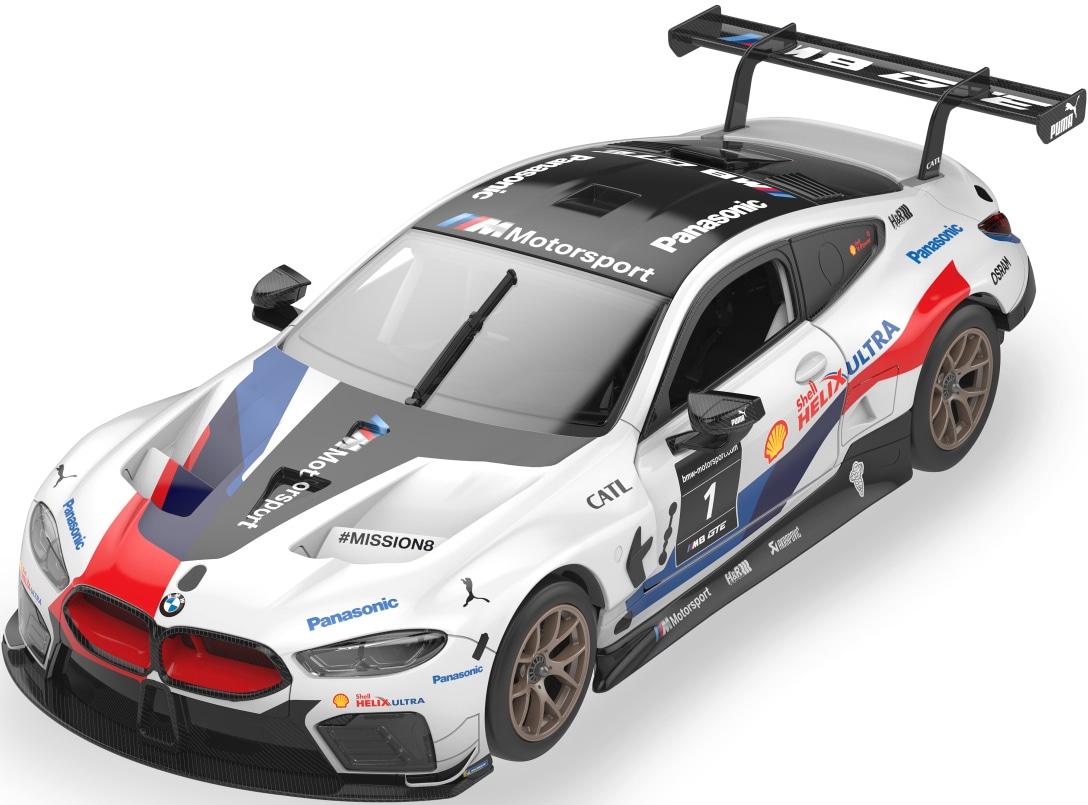 Jamara RC-Auto BMW M8 GTE, weiß, Bausatz weiß Kinder RC Auto Autos, Eisenbahn Modellbau
