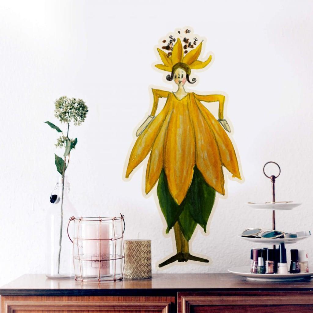 Wall-Art Wandtattoo »Geburtstags Blume Oktober Fee«