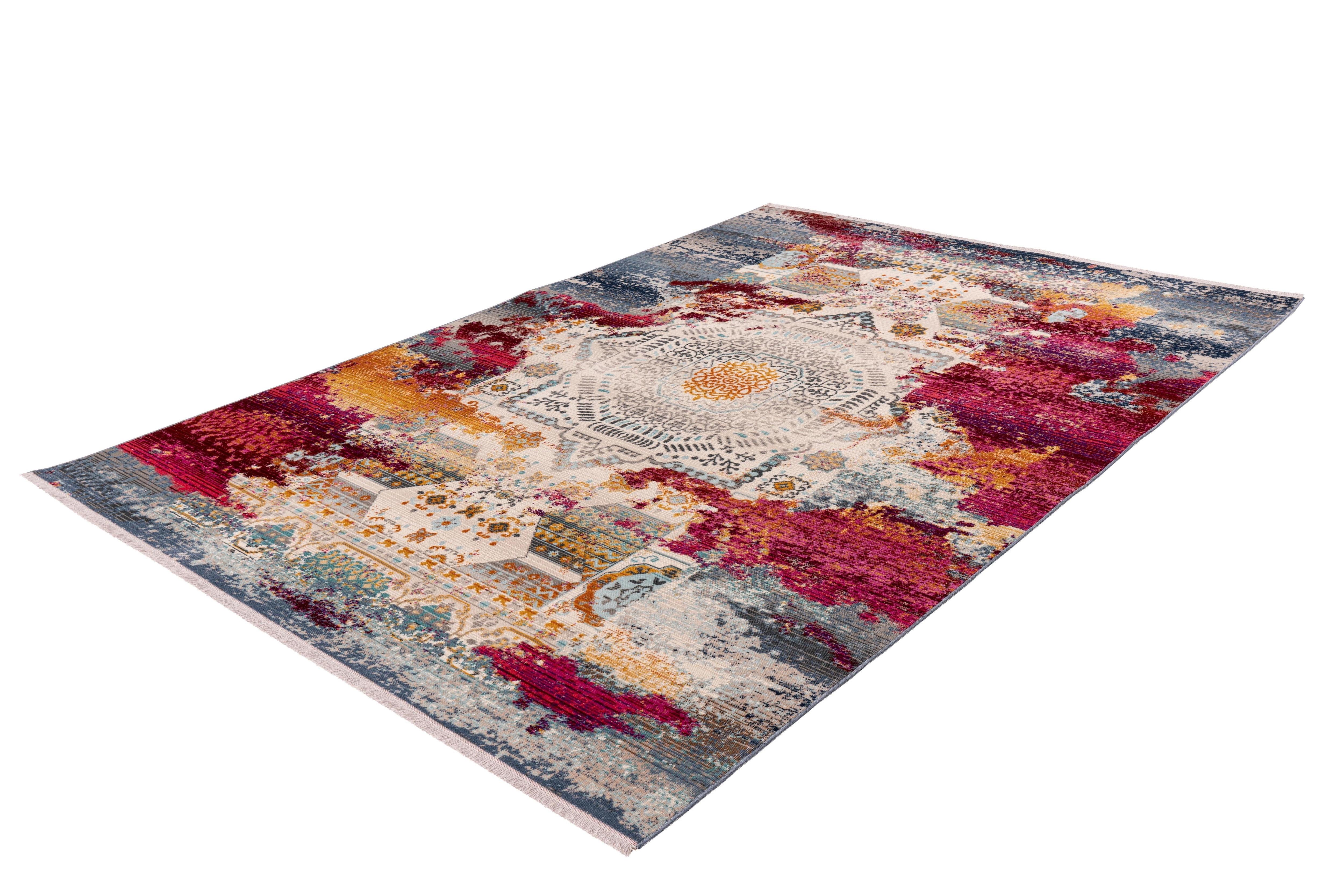 me gusta Teppich Anouk 900, rechteckig, 5 mm Höhe, Flachgewebe, Vintage Des günstig online kaufen