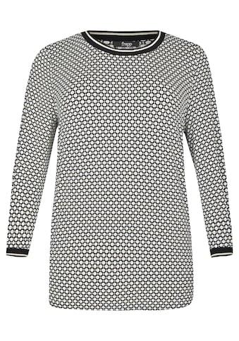 FRAPP Sportives Shirt mit gerippten Bündchen kaufen