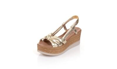 Alba Moda Sandalette mit effektvoller Knotenoptik auf der Front kaufen