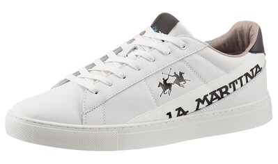 La Martina Sneaker, mit Logoverzierung in Weite G (=weit) kaufen