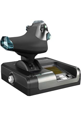 Logitech G Gaming-Adapter »Saitek X52 Pro Flight Control System«, 1,4 cm kaufen