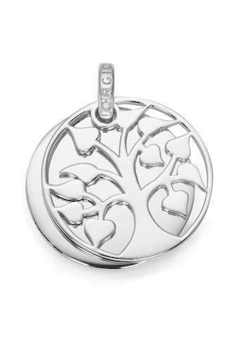 GIORGIO MARTELLO MILANO Kettenanhänger »Lebensbaum mit Gravurplatte, Silber 925« kaufen