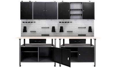ONDIS24 Werkstatt-Set, 240 cm, mit 2 LED Lampen kaufen