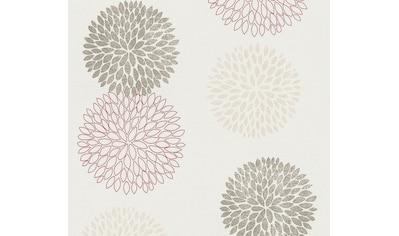 A.S. Création Vliestapete »Blooming mit grafischen Blumen floral«, floral kaufen