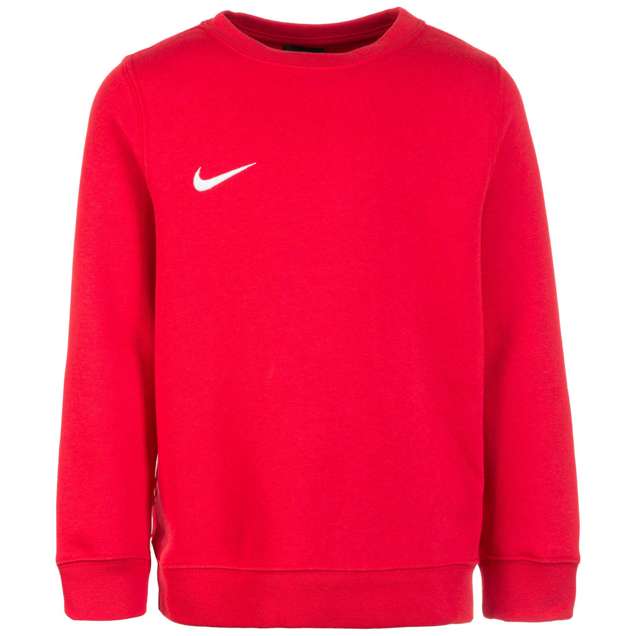 Nike Sweatshirt Club19 Crew Fleece Tm, rot, Kinder
