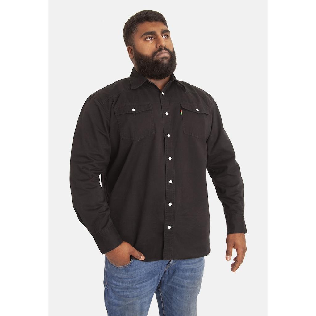Duke Clothing Jeanshemd »Herren Kingsize Western Denim Hemd«