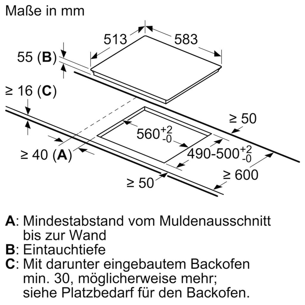 NEFF Induktions-Kochfeld »T46BT43N0«, T46BT43N0, mit TwistPad®