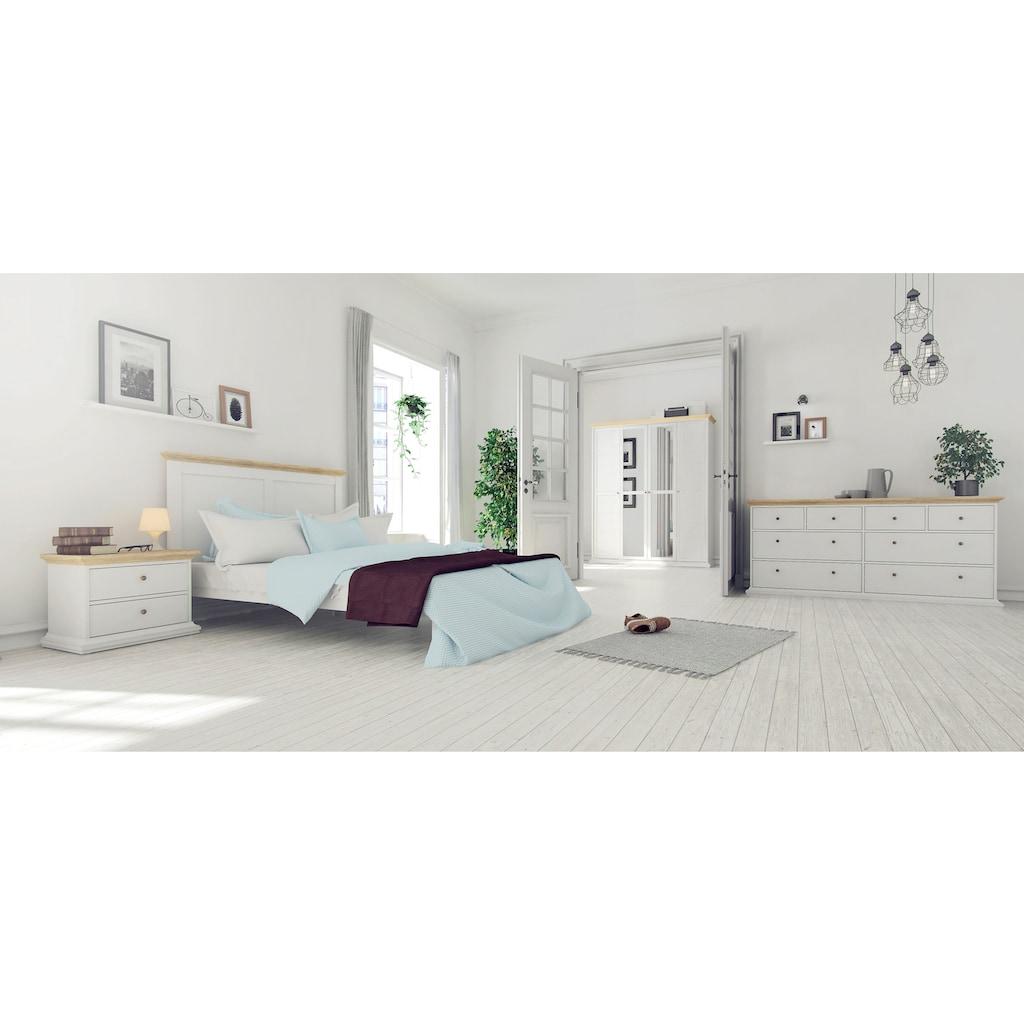 Home affaire Sideboard »Paris«, erstrahlt in einer schönen Holzoptik, mit einer Kranzprofil Leiste oben und unten