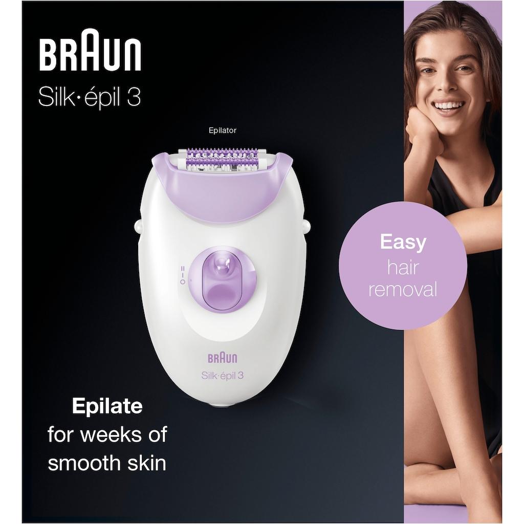 Braun Epilierer »Silk-épil 3 3-170«, 1 St. Aufsätze