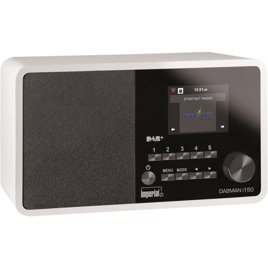 IMPERIAL by TELESTAR Digitalradio (DAB+) »DABMAN i150«, ( Digitalradio (DAB+)-Internetradio )
