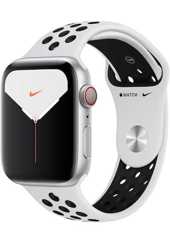 Apple Series 5 Nike GPS + Cellular, Aluminiumgehäuse mit Nike Sportarmband 44mm Watch (Watch OS 6) kaufen