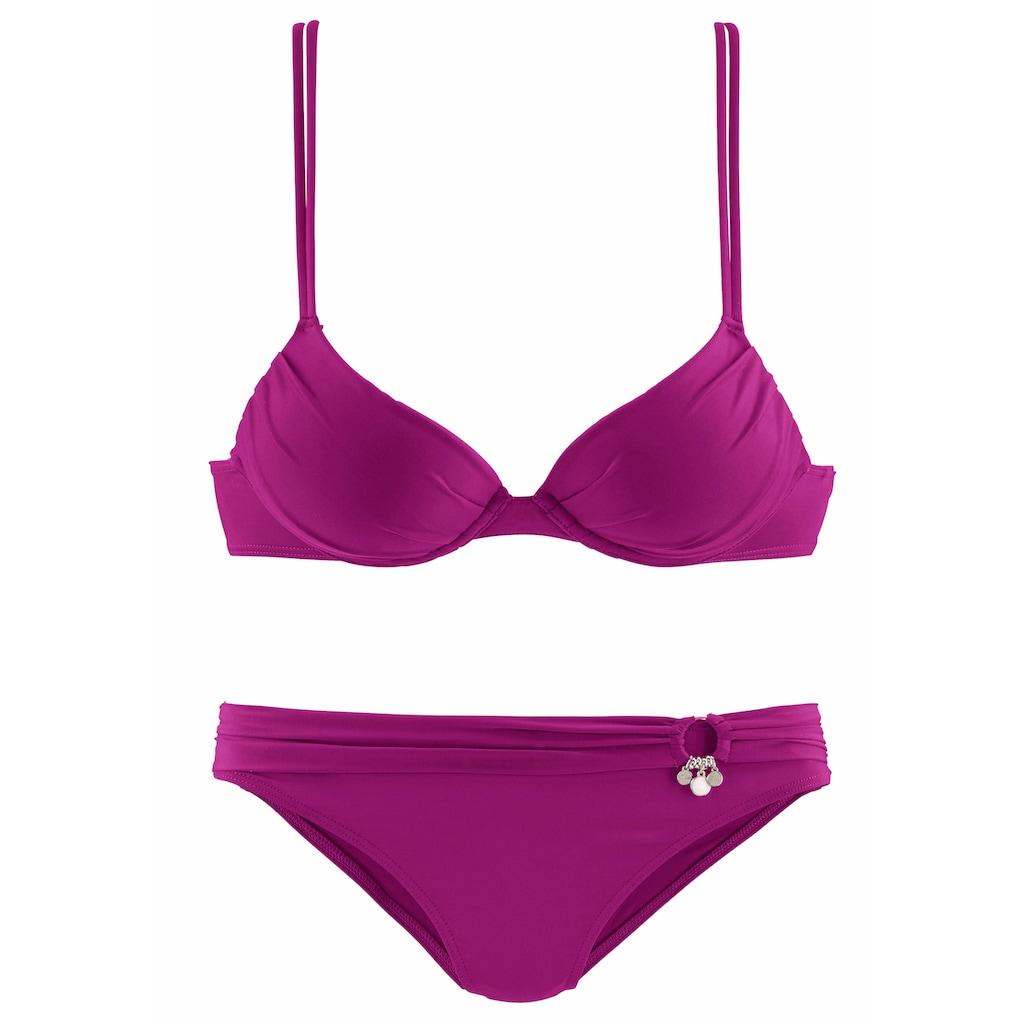 s.Oliver Beachwear Push-Up-Bikini