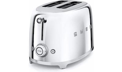 Smeg Toaster »TSF01SSEU«, 2 kurze Schlitze, für 2 Scheiben, 950 W kaufen
